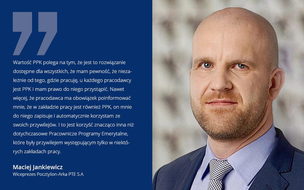 Jankiewicz: PPK to dla pracowników same korzyści